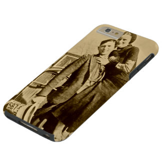 Bonnie and Clyde - The Barrow Gang Tough iPhone 6 Plus Case