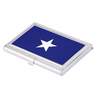 """Bonnie Blue Flag"" Business Card Holder"