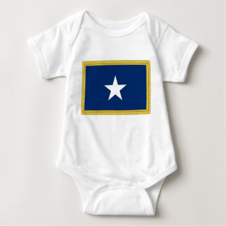 Bonnie Blue Flag First Texas Cofederate Volunteers Baby Bodysuit
