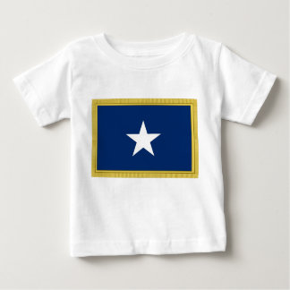 Bonnie Blue Flag First Texas Cofederate Volunteers Baby T-Shirt