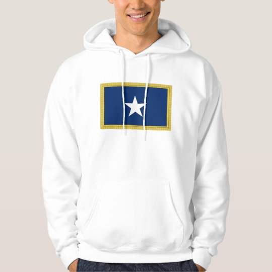 Bonnie Blue Flag First Texas Cofederate Volunteers Hoodie