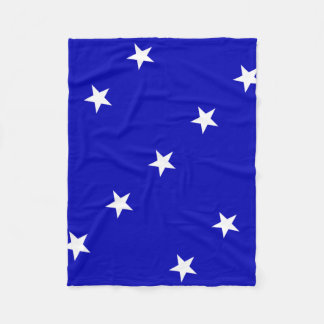 Bonnie Blue Flag Fleece Blanket