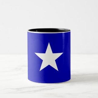 Bonnie Blue Flag Two-Tone Coffee Mug