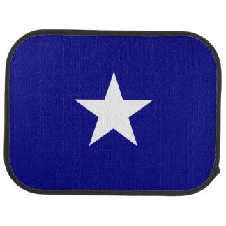 Bonnie Blue Flag White Star Car Mat