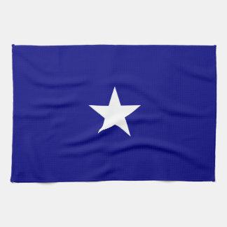 Bonnie Blue Flag White Star Hand Towel
