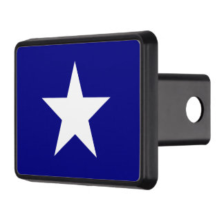 Bonnie Blue Flag White Star Trailer Hitch Cover