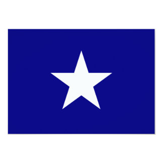 Bonnie Blue Flag with Lone White Star Invitation