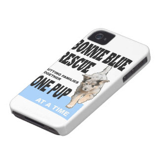 Bonnie Blue Rescue iPhone 4 Case! iPhone 4 Cover