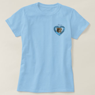 Bonnie Blue rescue logo t-shirt with quote