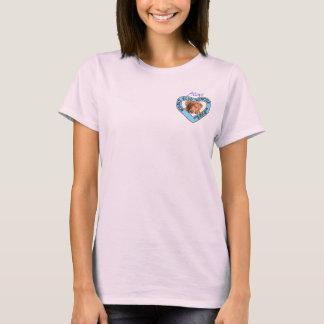 Bonnie Blue Rescue Logo woman's  t-shirt with quot