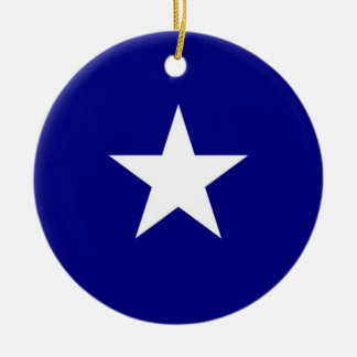 Bonnie Blue Round Ornament
