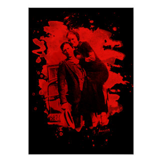 Bonnie & Clyde (bleached look) talk Poster