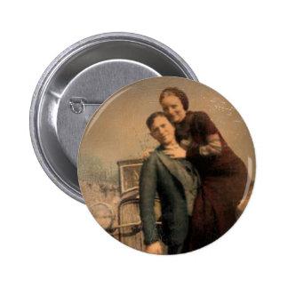Bonnie & Clyde Buttons