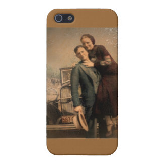 Bonnie & Clyde Case For iPhone SE/5/5s
