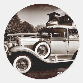 Bonnie & Clyde Classic Round Sticker