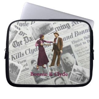 Bonnie & Clyde Laptop Sleeve