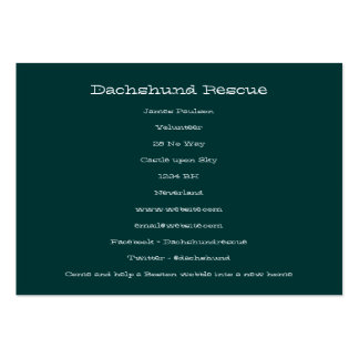 Bonnie & Clyde Large Business Cards (Pack Of 100)