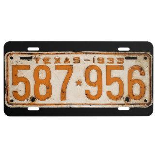 Bonnie & Clyde License Plate