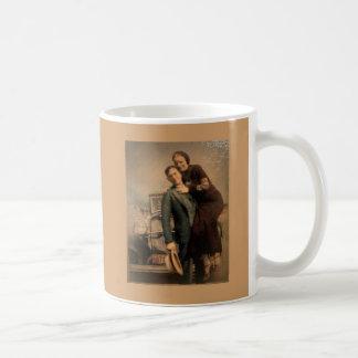 Bonnie & Clyde Classic White Coffee Mug