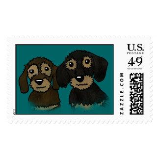 Bonnie & Clyde Postage Stamp