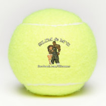 Bonnie & Clyde Slim & M's Tennis Balls