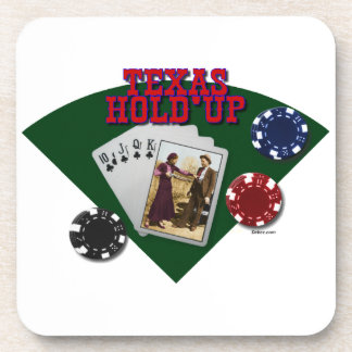 Bonnie & Clyde Texas Hold'up Coaster