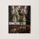 Bonnie & Clyde The Outlaw Lovers Jigsaw Puzzles