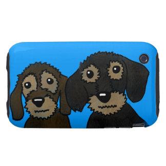 Bonnie & Clyde Tough iPhone 3 Cover