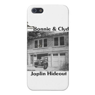 Bonnie & Clyde's Joplin Hideout Cover For iPhone 5