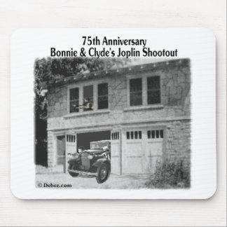 Bonnie & Clyde's Joplin Hideout Mouse Pad