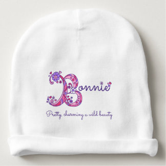 Bonnie girls name & meaning baby hat