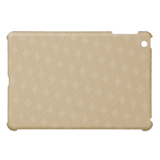 Bonnie Harvest Gold Four Point Stars Cover For The iPad Mini
