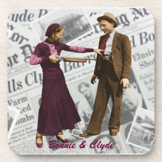 Bonnie Parker and Clyde Barrow Coaster