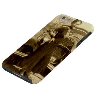 Bonnie Parker - la cuadrilla de la carretilla Funda Resistente iPhone 6 Plus