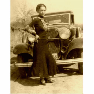 Bonnie Parker - The Barrow Gang Statuette