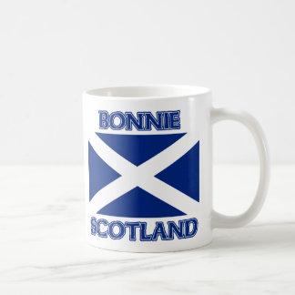 Bonnie Scotland and Saltire flag Coffee Mug
