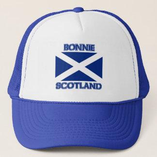 Bonnie Scotland and Saltire flag Trucker Hat