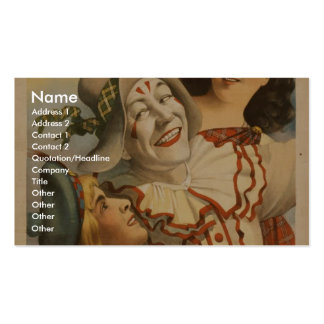 Bonnie Scotland, at 'Paldy's Fair' Vintage Theater Double-Sided Standard Business Cards (Pack Of 100)