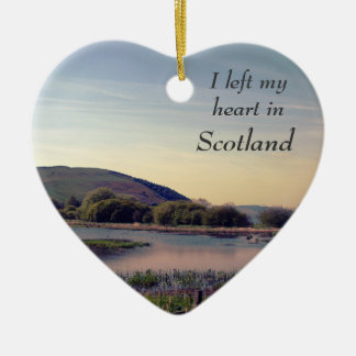 Bonnie Scotland -- Scottish Loch View Ceramic Ornament