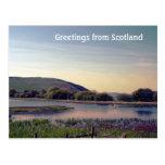 Bonnie Scotland -- Scottish Loch View Post Cards