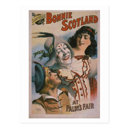 """Bonnie Scotland"" Vintage Theater Postcard"
