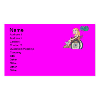 Bonnie soars Double-Sided standard business cards (Pack of 100)