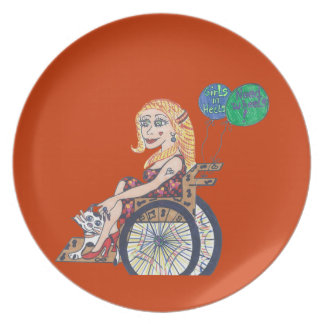 Bonnie soars dinner plate