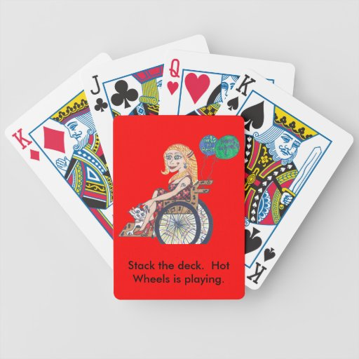 Bonnie soars on these... playing cards