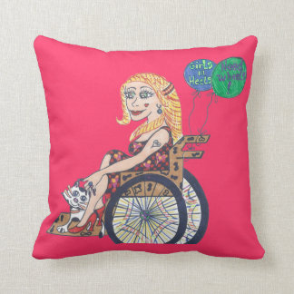 Bonnie soars throw pillow