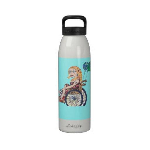 Bonnie soars drinking bottles