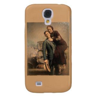 Bonnie y Clyde Carcasa Para Galaxy S4