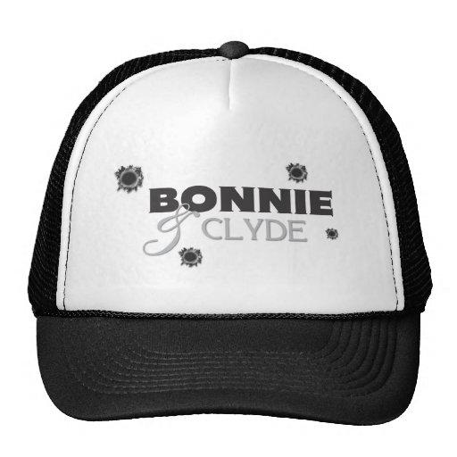 Bonnie y Clyde Gorro De Camionero