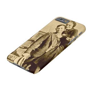 Bonnie y Clyde - la cuadrilla de la carretilla Funda Barely There iPhone 6