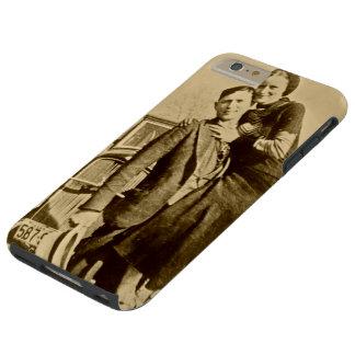 Bonnie y Clyde - la cuadrilla de la carretilla Funda De iPhone 6 Plus Tough